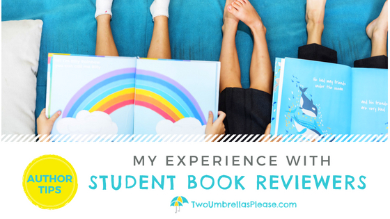 My Experience with Student Book Reviewers